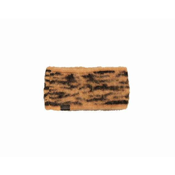 INFIELDER DESIGN       ANIMAL MOHAIR HEADBAND-TIGER