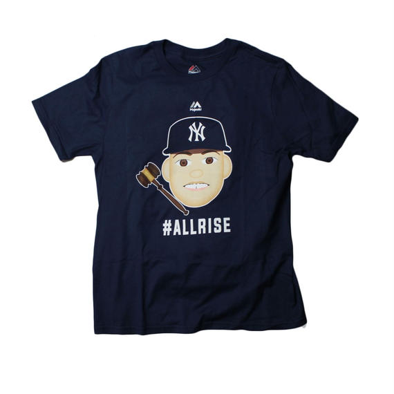 Majestic NYY Aaron Judge TEE  #99  ③