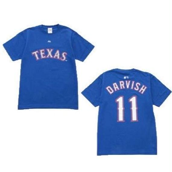 majestic (マジェスティック)  name&number T DARVISH 11 (TEX)