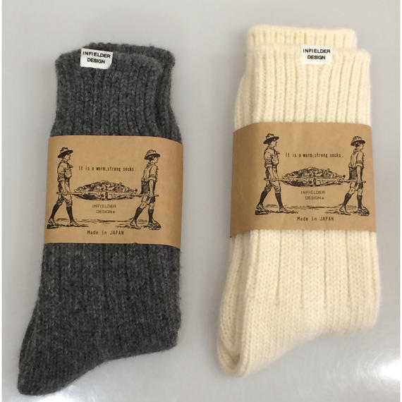 INFIELDER DESIGN Irish Wool Socks