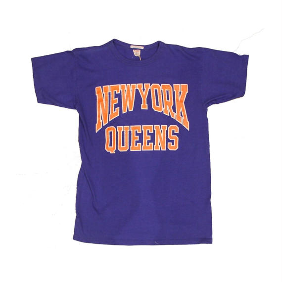 COPY CAT   -コピーキャット-  OLD SHORT SLEEVE TEE -NEWYORK QUEENS