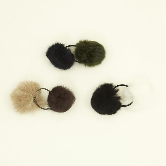 INFIELDER DESIGN      Rabbit Fur Hair Elastic