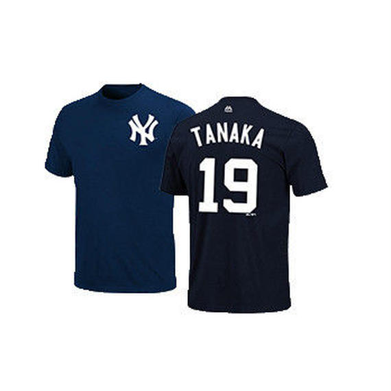 majestic (マジェスティック)  name&number T TANAKA 19 (NYY)