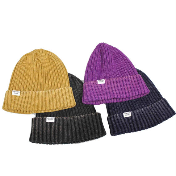 INFIELDER DESIGN      Wash Cotton Knit Cap 1