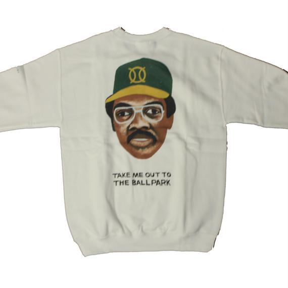 ball park  sweat Tee JACSON -WHITE-  (TAMANIWA ×SUNTARO TAKEUCHI)