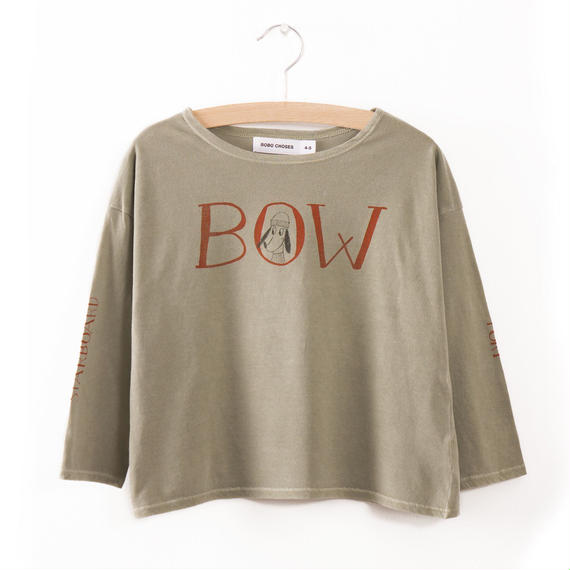 40%OFF!【Bobo Choses】T-SHIRT BOW(カットソー)
