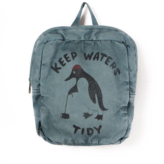 40%OFF!【Bobo Choses】SCHOOL BAG KEEP WATERS TIDY(スクールバッグ)