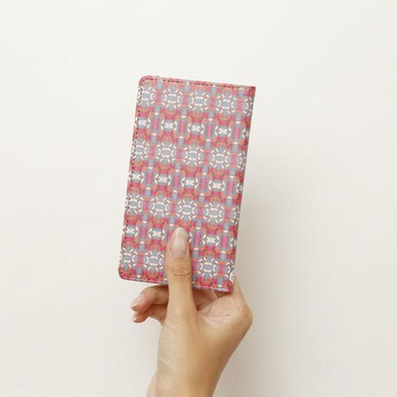 手帳型スマホケース crimson(iPhone5S/SE)