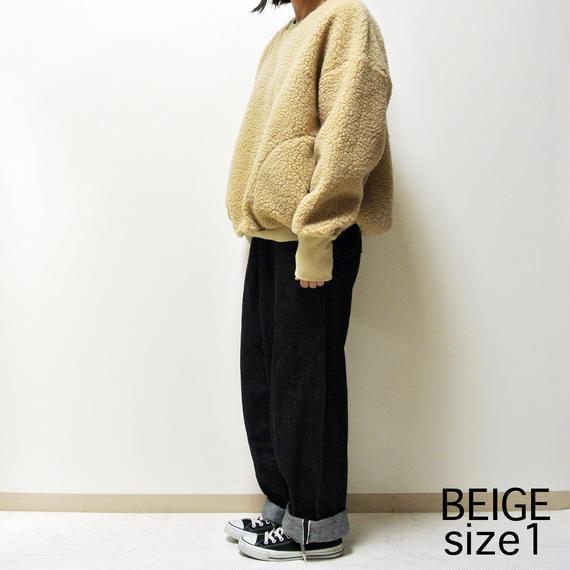 BOA-FLEECE BIG PULLOVER   A51705