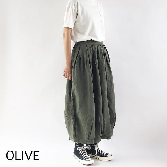 LINEN CIRCUS CULOTTES(リネンサーカスキュロット)A21805