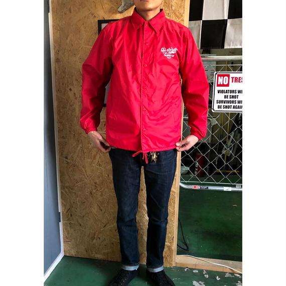"""""""HATCHET""""  Nylon coach jacket"""