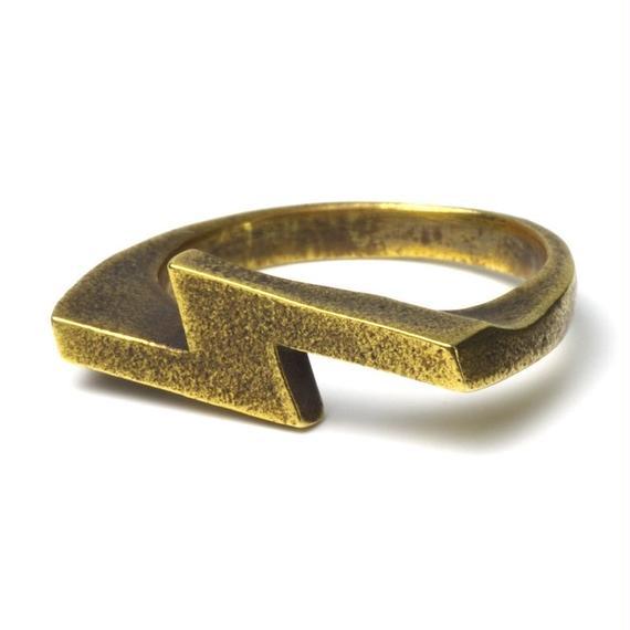 """Brass HR-2-B """"S"""" Ring"""