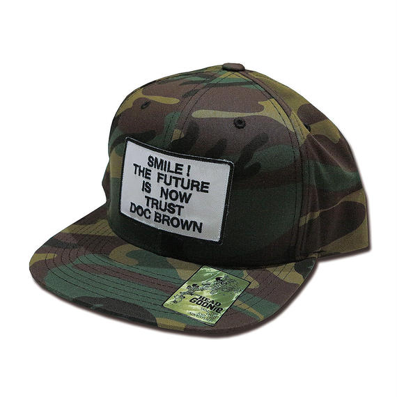 TRUST DOC BROWN SNAPBACK CAP