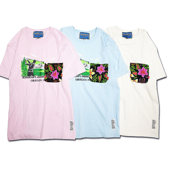 CHUNK ALOHA POCKET T-shirts