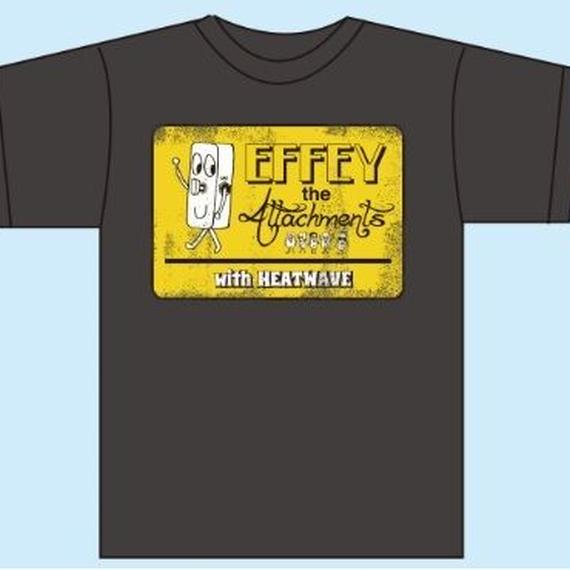 EFFEYくんTシャツ/ヘザーブラック(1187-HK)