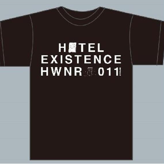 HOTEL  Tシャツ/ブラック Sサイズのみ(1189-BK2-S)