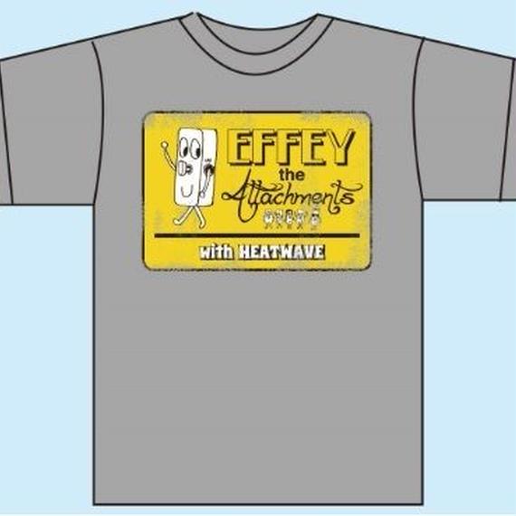 EFFEYくんTシャツ/モクグレー(1187-HG)