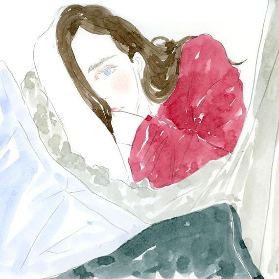 lazy morning  /  FINE ART PRINT A4(NO FRAME)