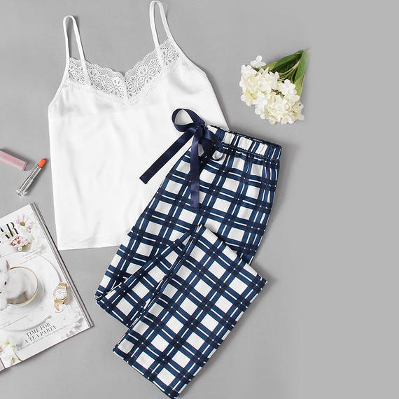 Cami & Pants Roomwear Set