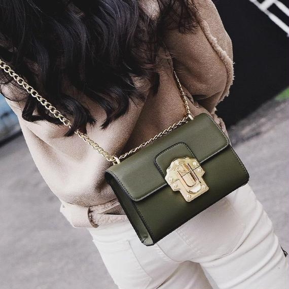 2way Mini Leather Bag