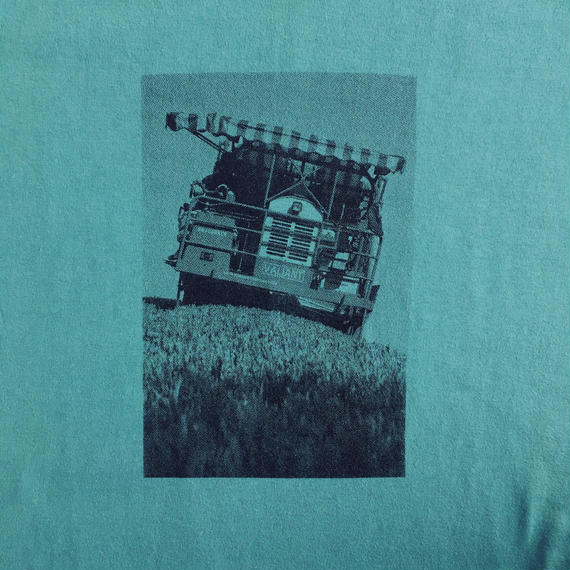 Kirishima organic green tea picking machine / T-shirts R neck