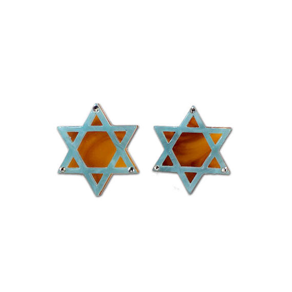 Hexagram Pierce/Earring