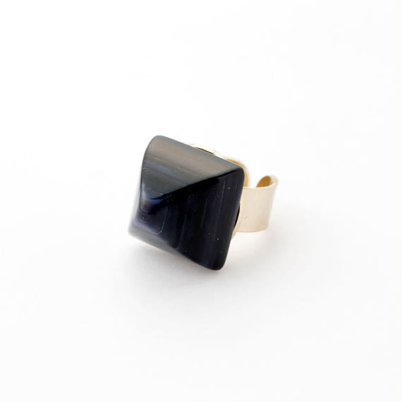 Pyramid Ring(Navy)
