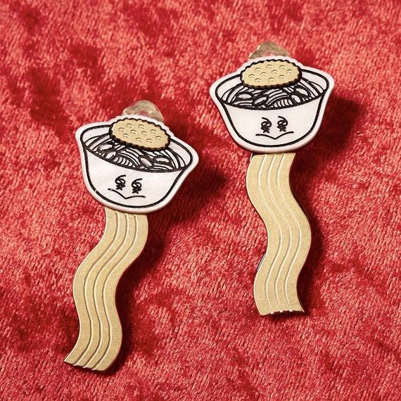 ICHASU×High-Me TOKYO担仔麺イヤリング