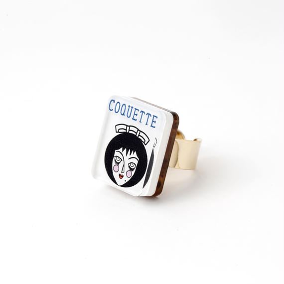 MIRAGE RING(COQUETTE)