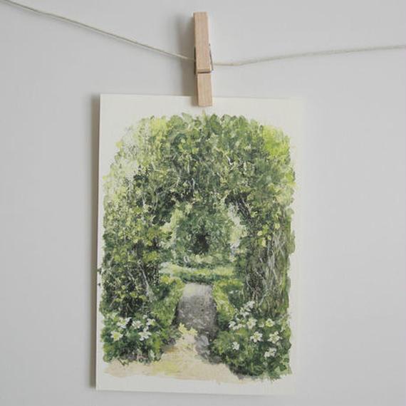 postcard / 緑のアーチ