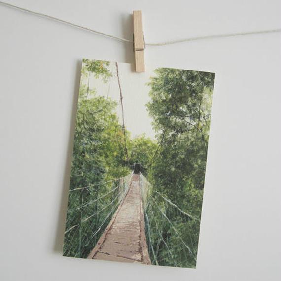 postcard / 吊り橋