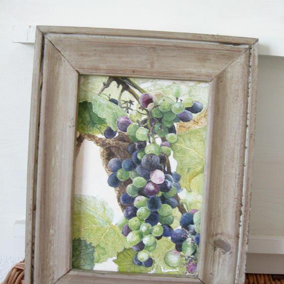 painting / 熟した葡萄