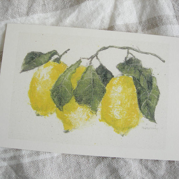postcard / lemon