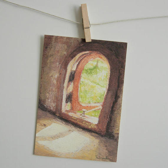 postcard / 小さな窓