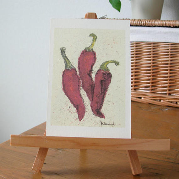 postcard / red pepper