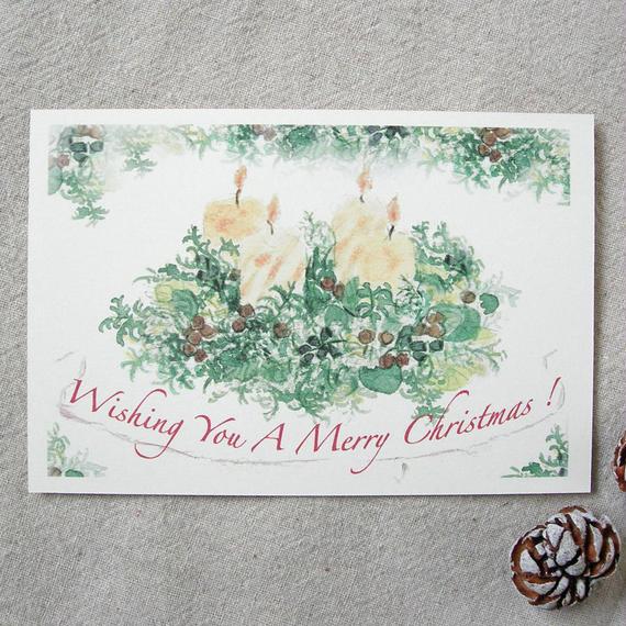 クリスマス・ポストカード 02