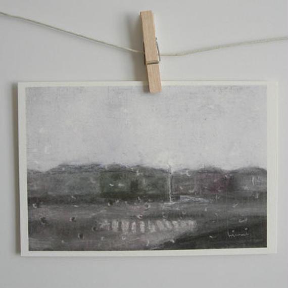 postcard / 雨の日