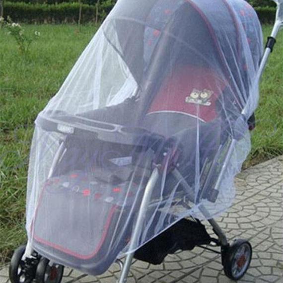 ベビーカー用ネット 虫よけカバー ベビーシェルター 蚊帳 メッシュ バギー ベビー用品 k00011