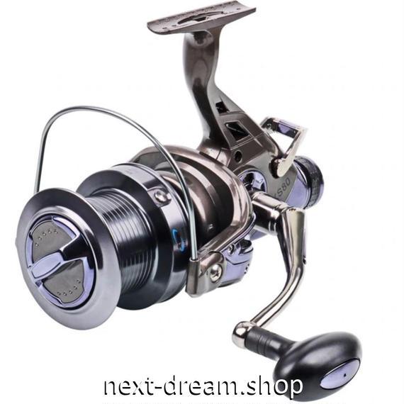 新品 スピニングリール 釣り道具 フィッシング 高性能ベアリング 鯉釣り 高速 シルバー 7000 / 8000番 m02005