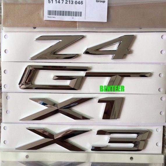 BMW エンブレム Mパフォーマンス Xシリーズ X1 X3 X5 X6 GT Z4 リヤステッカー h00255