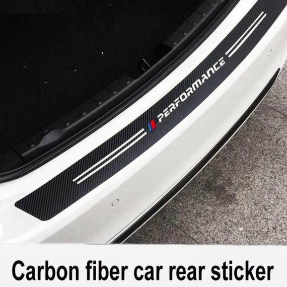 BMW ステッカー 炭素繊維 バンパー E36 E39 E46 E53 E60 E61 E64 E70 E71 E85 E87 E90 E83 F10 F20 F21 F30 h00213
