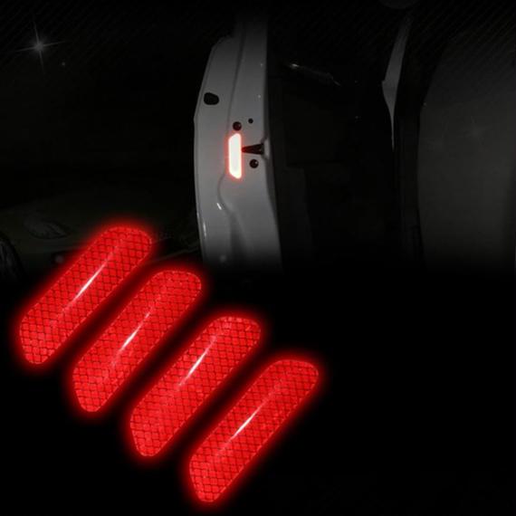 反射ステッカー 警告 マーク デカール 安全装飾用 車 h00118