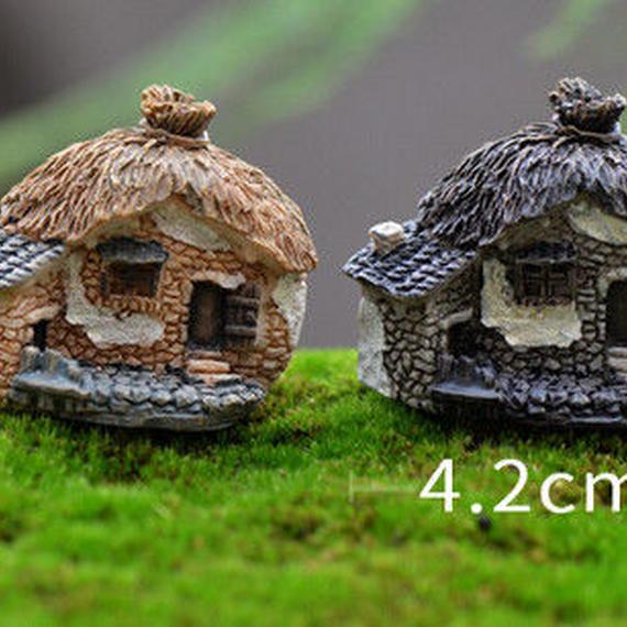 ドールハウス 8スタイル石家妖精 ガーデン ミニチュア クラフトマイクロコテージ 風景装飾 diy ミニチュアクラフトキット k00001