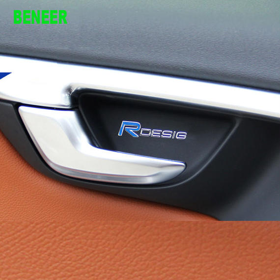 ボルボ  シール スタイリング ステッカー R DESIGN 2個入 Volvo h00572