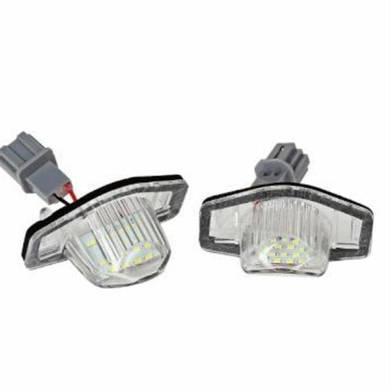 LEDナンバー灯 RB1/RB2/RB3/RB4 オデッセイ GK3/5/6 フィット GE6/7/8/9 フィット GD1/2/3/4 フィット /77-8
