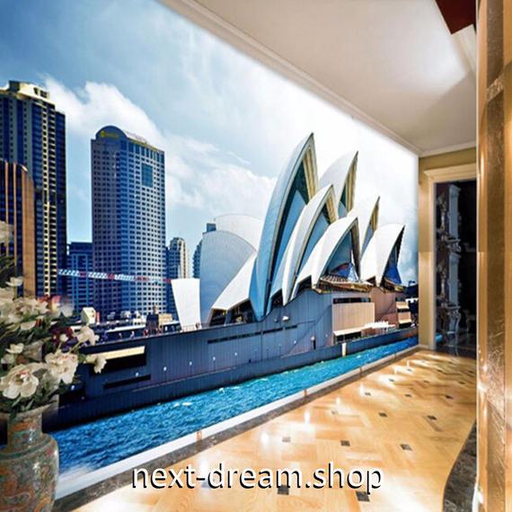 3D 壁紙 1ピース 1㎡ シティ風景 夜景 大都会 DIY リフォーム インテリア 部屋 寝室 防湿 防音 h03328