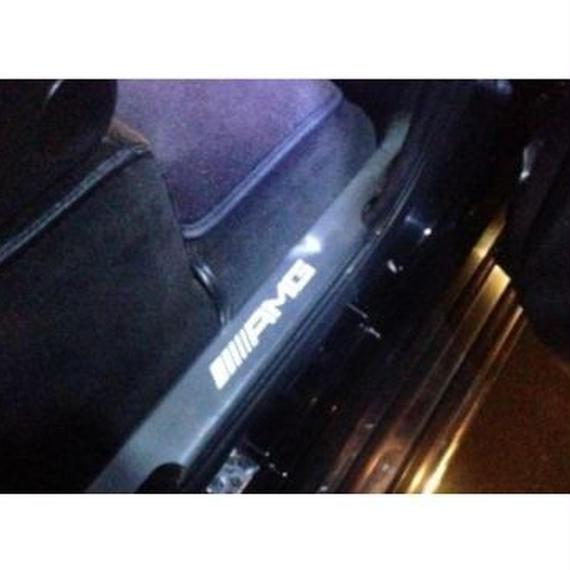 ベンツ Gクラス AMGスタイル スカッフプレート サイドモール LED w463 g500 g55 g63 00185