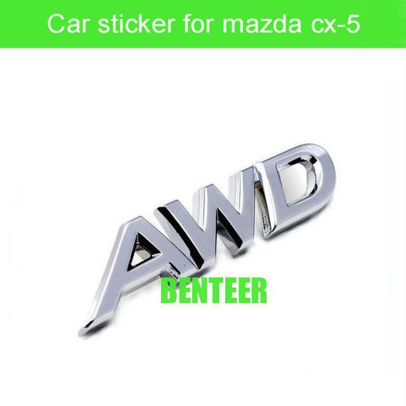 マツダ ステッカー サイド ボディ Mazda 3D CX-5 h00461