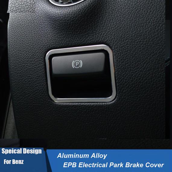 ベンツ カーインテリア 内装 パーキングブレーキ カバー Mercedes-Benz h00539