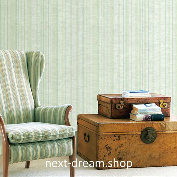 3D 壁紙 53×1000㎝ シンプル ストライプ DIY 不織布 カビ対策 防湿 防水 吸音 インテリア 寝室 リビング h02028
